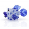 Lamp Bead Puffy Fish 1Pc 28x16mm Pacific Frost